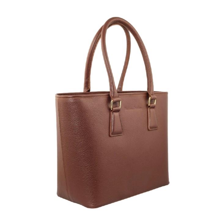 madamemattey-clio-tan-medium-frontside-leather-tote-bag